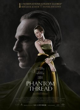 Top des 100 meilleurs films thrillers n°19 - Phantom Thread - Paul Thomas Anderson
