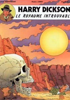 Harry Dickson, tome 4 : Le royaume introuvable - Christian Vanderhaeghe - Jean Ray