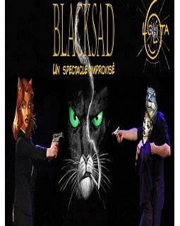 BlackSad version spectacle d'impro à Strasbourg