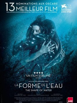 La Forme de l'eau - The Shape of Water - Guillermo Del Toro