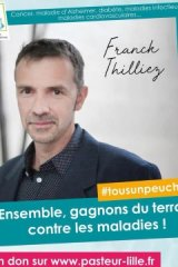 Franck Thilliez s'engage !