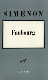 Faubourg - Georges Simenon
