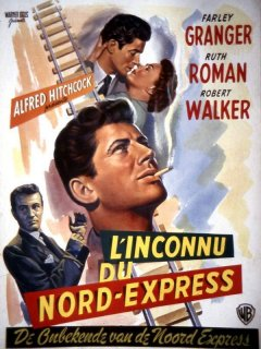 Alfred Hitchcock - L'INCONNU DU NORD EXPRESS (1951)