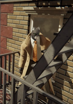 BLACKSAD : Under the Skin se dévoile en image